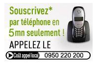 Pour obtenir des informations sur les assurances, appelez le 0950 220 200